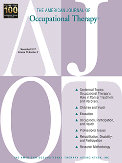 DriveSafety Featured in American Journal of Occupational Therapy (AJOT)